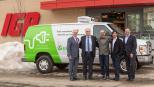 blogue_jour_de_la_terre_premier_camion_electrique_ecotuned_fonds_eco_iga_quebec_canada